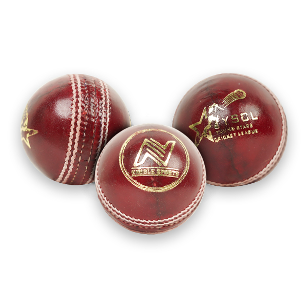 Nimble Red Leather Ball